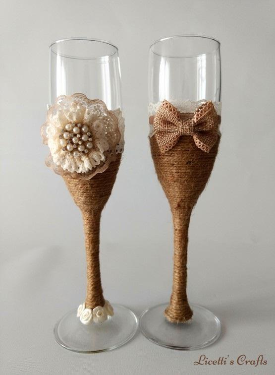 Las Copas Decoradas Vintage Mas Elegantes De Licetti S Crafts