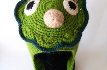 Gorro lana alpaca dinosaurio