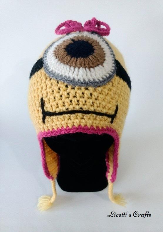 Gorro lana alpaca minion