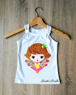 camiseta algodón pima tirante Giorgia