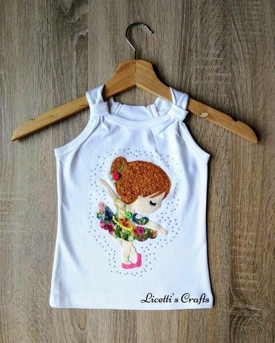 camiseta tirantes pima cotton Isabella