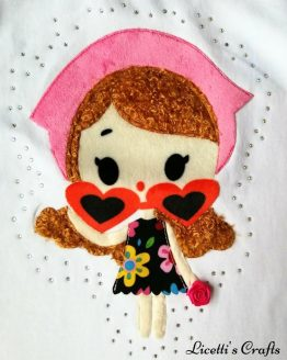 zoom muñeca para camiseta en pima cotton