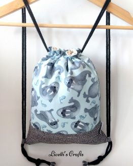 mochila cuerdas hecha a mano morsas