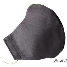 Mascarilla higienica lavable gris