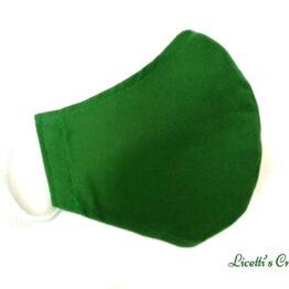 Mascarilla higienica lavable verde albahaca