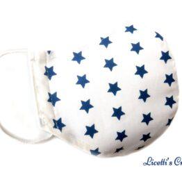 Mascarilla higienica reutilizable estrella marino