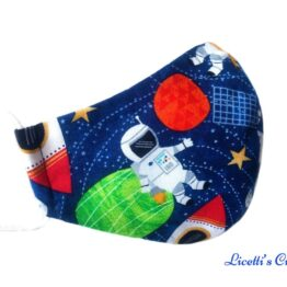 mascarilla higienica astronauta