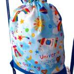 mochila cuerdas infantil unicornio arcoiris
