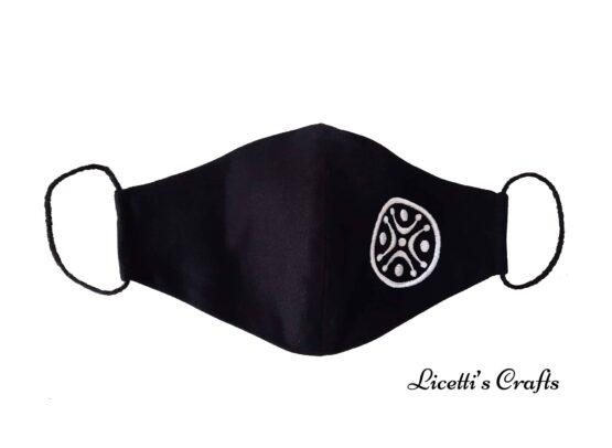 mascarilla higienica estela cantabra bordada